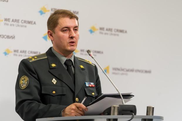 За сутки ранен один украинский военный
