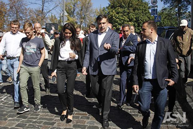 США наблюдают за приключениями Саакашвили в Украине