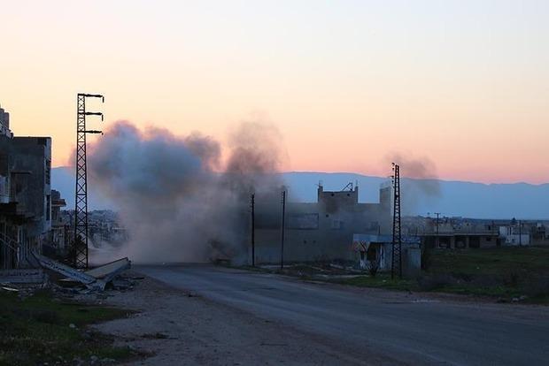 Коалиция Запада отрицает, что нанесла удар по складу с химоружием в Сирии