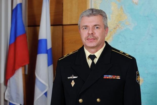 Командующему ЧФ вручено подозрение в совершении особо тяжких преступлений