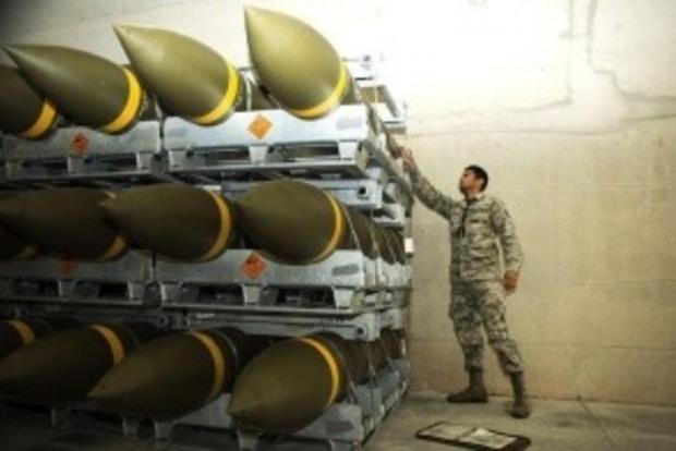 Пентагон поставил в Германию крупнейшую партию боеприпасов