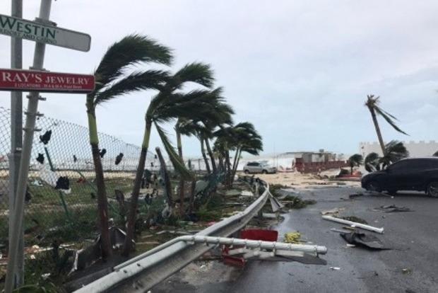 Ураган «Ирма» на 95% разрушил остров Сен-Мартен, 6 погибших