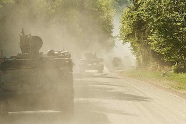 Гибридная российская армия в Донбассе применила Грады под Авдеевкой
