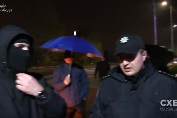 Нападение на корреспондентов Схем: открыто уголовное производство