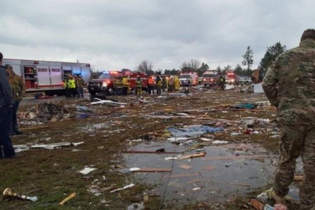 Из-за торнадо в США травмированы 50 человек, есть погибшие
