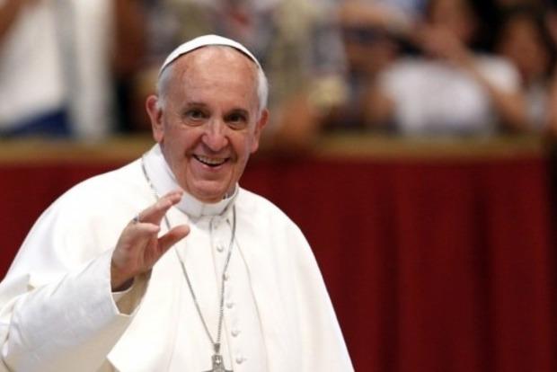 Видео дня: детишки сорвали прием у Папы Римского