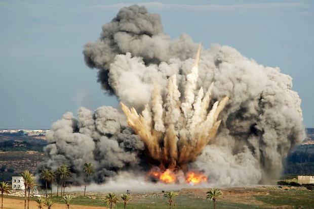 Авиаудары в Сирии вызвали землетрясение