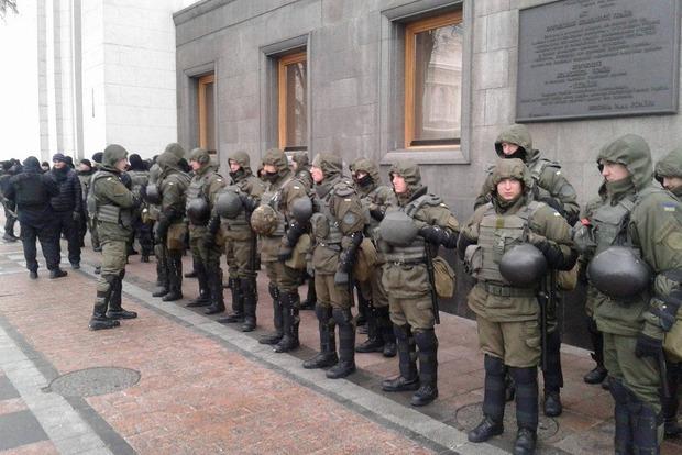 В центр Киева стянули 2,5 тыс. правоохранителей
