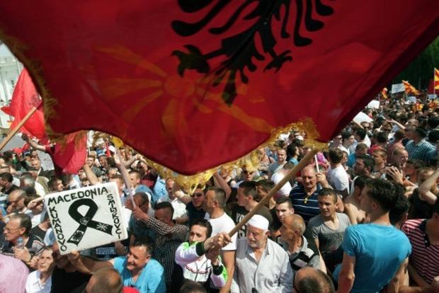 МИД: Украинцам не следует сейчас ездить в Македонию