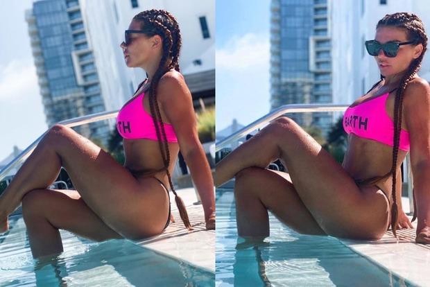 Украинская поп звезда Анна Седакова пощекотала нервы своим фанатам откровенным купальником