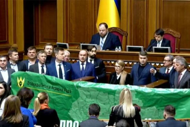 Хрен вам, а не земля Украины. Батькивщина, ОПЗЖ, ЕС и За будущее выступили против продажи земли