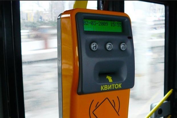 В Киеве электронные билеты введут сначала в скоростных трамваях и электричках