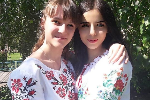 Самые красивые украинские выпускницы сегодня были в вышиванках