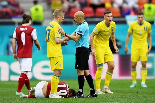 Україна програла Австрії і посіла третє місце в групі