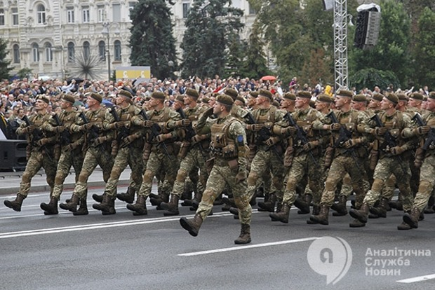 «Товарищ москаль, на Украину шуток не скаль». Хронология самого большого военного парада в Киеве