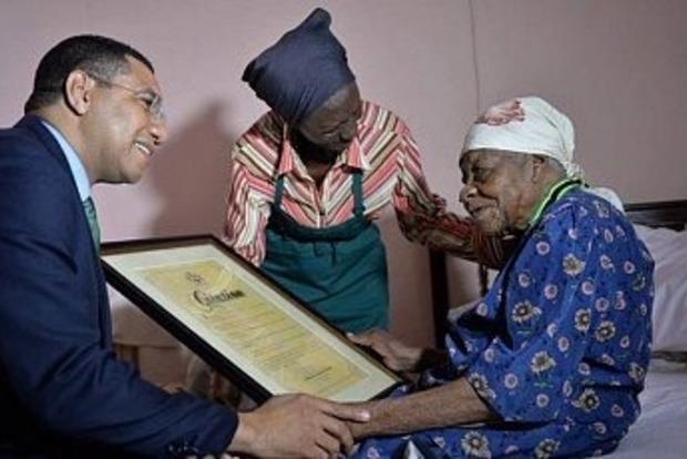 Пример силы духа. На Ямайке умерла самая старая жительница Земли