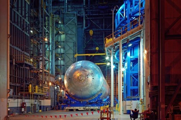 NASA показало строительство ракеты для покорения Марса