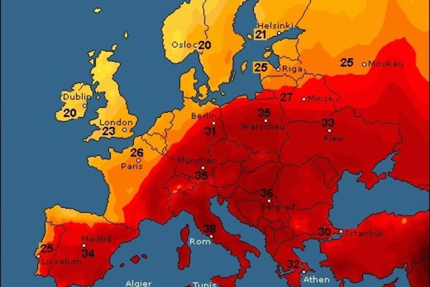 В августе в Украину придет настоящее африканское пекло