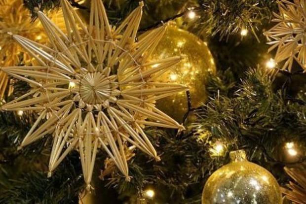 В Запорожье рухнула праздничная ёлка