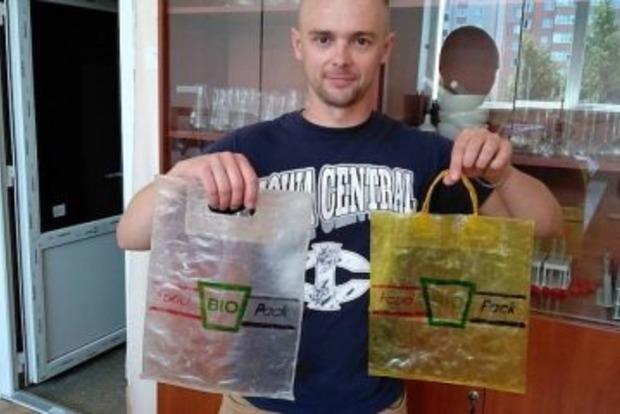 Съедобные пакеты: украинский стартап произвел фурор на международном конкурсе