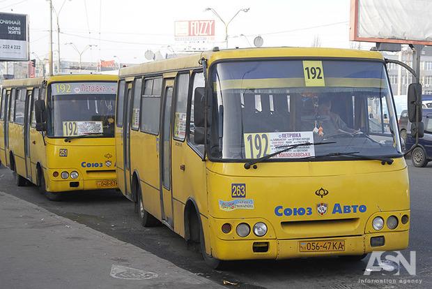 В Киеве возможно снова подорожает проезд на маршрутных такси