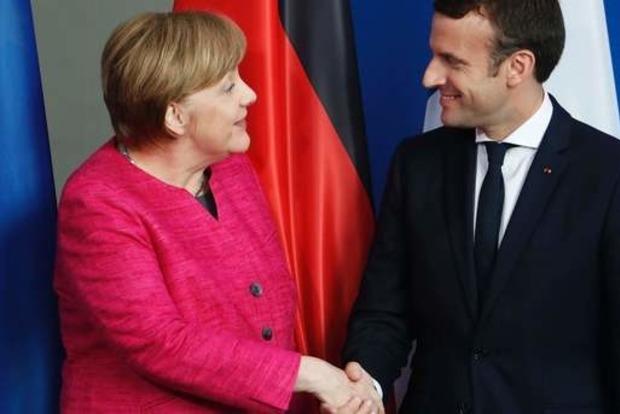 Макрон и Меркель не заметили мир на Донбассе