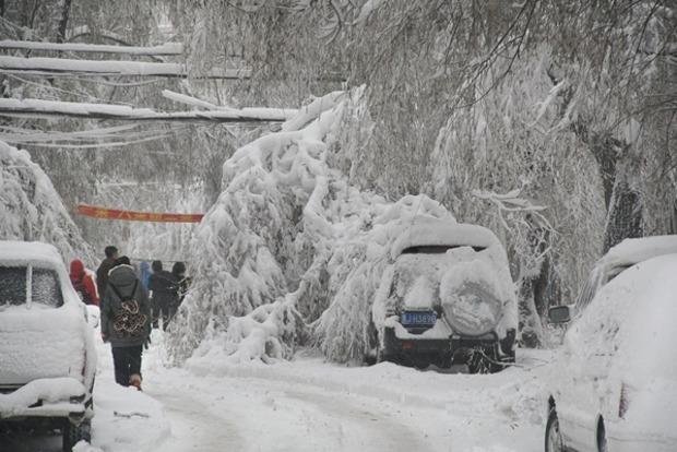Восточная часть Канады парализована из-за сильных снегопадов