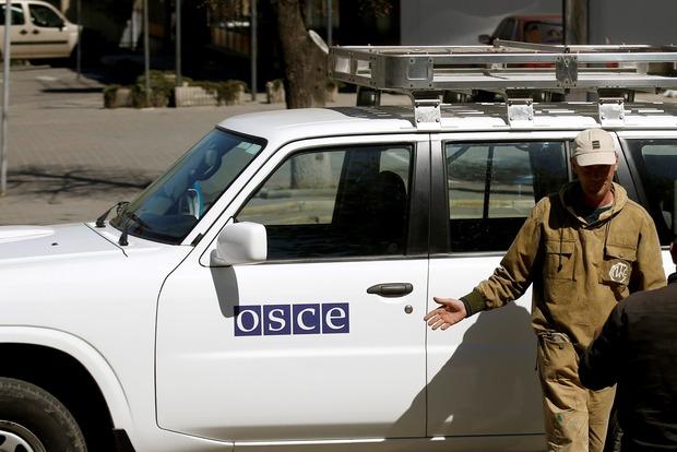 ОБСЕ заявляет об угрозах, поступивших в их адрес от боевиков