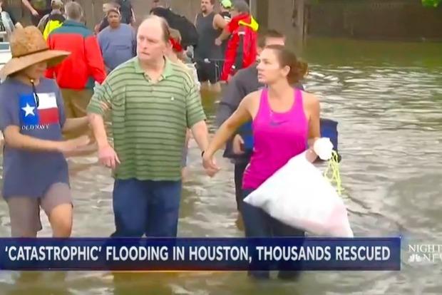 В Хьюстоне ввели чрезвычайное положение из-за масштабного наводнения