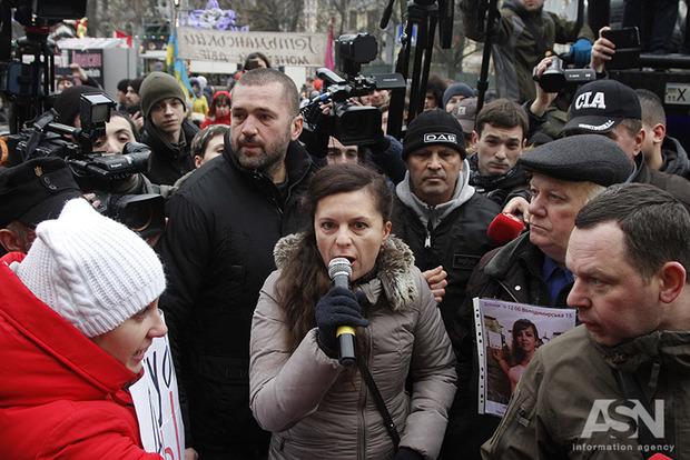 Активісти вимагають від поліції розслідувати вбивство юриста Ноздровської