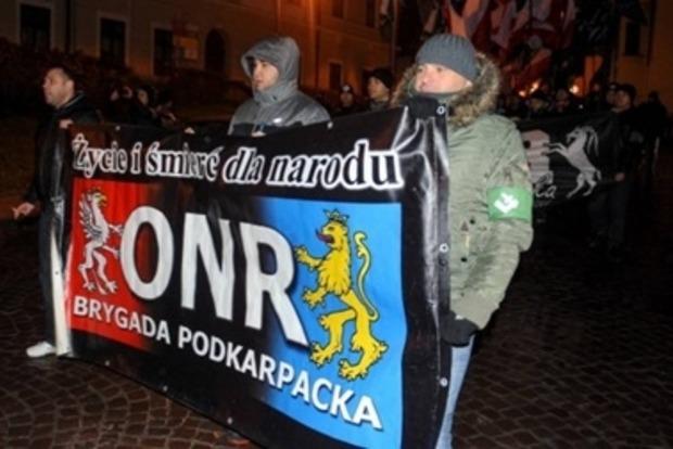 Украинцы резко отреагировали на марш в польском Перемышле