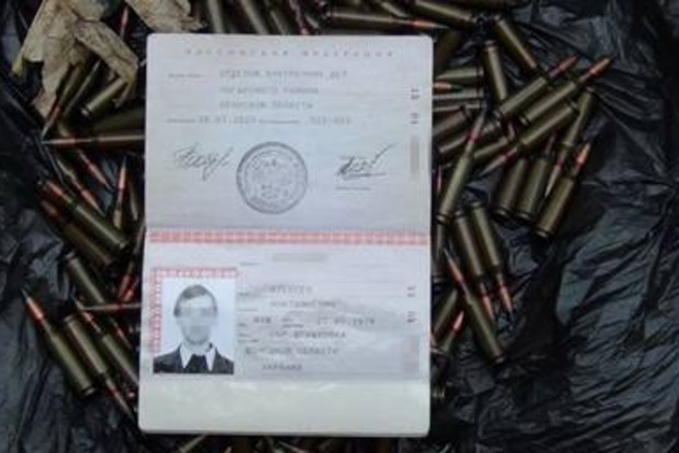 В Дружковке у россиянина нашли взрывчатку и патроны (фото, видео)