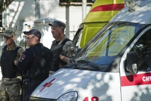 За информацию о нападавшем на станцию скорой помощи в Симферополе объявлена награда