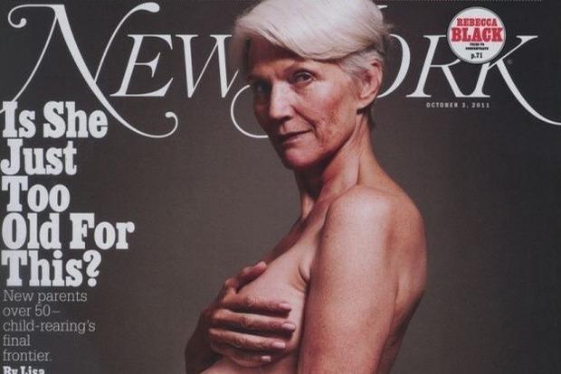 69-річна мати засновника Tesla Маска знялася голою і вагітної