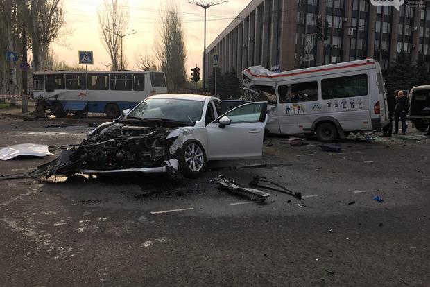 Проезд на мигающий желтый: В Кривом Роге 7 человек погибли на месте