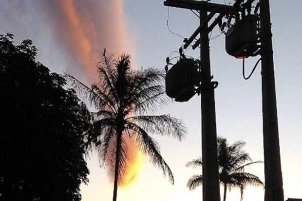 «Апокалиптическая» туча напугала жителей Бразилии