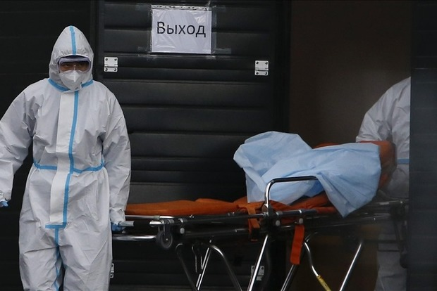 На Росії зафіксовано новий антирекорд смертності від COVID-19