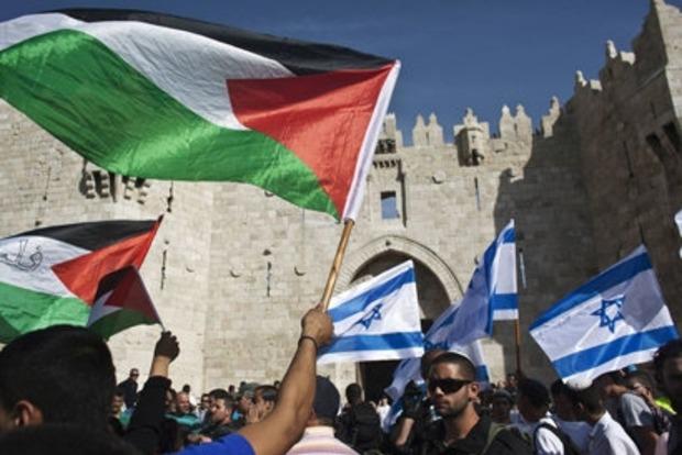 В США готовят план по взаимному признанию Палестины и Израиля