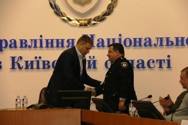 Троян назначил нового главу полиции Киевской области