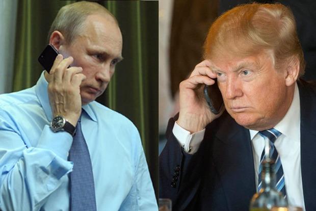 Разговор Трампа с Путиным: WSJ узнала об отсутствии прорыва