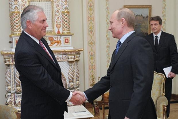 Путин с Тиллерсоном «пунктирно» обсудили Украину, но «подробно» Сирию