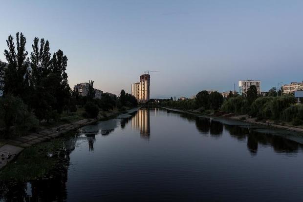 В Киеве Русановка временно останется без газа