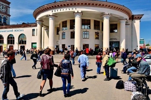 В Киеве станция метро «Вокзальная» закрыта на вход