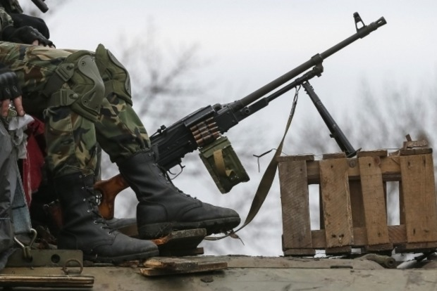 Сегодня боевики 25 раз обстреливали позиции сил АТО