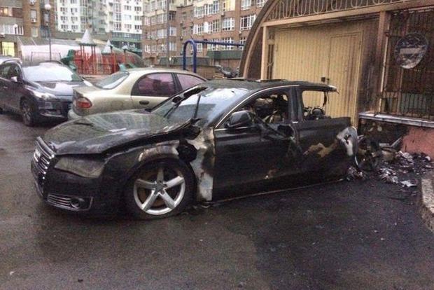 Пивоварский отреагировал на инцидент со сгоревшей Audi