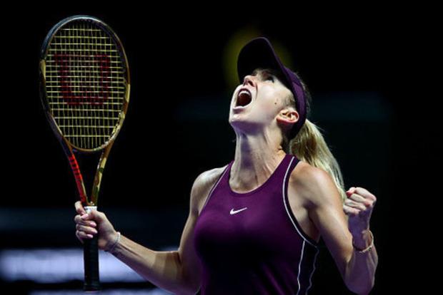 Как Свитолина разгромила Стивенс в финале Итогового турнира WTA