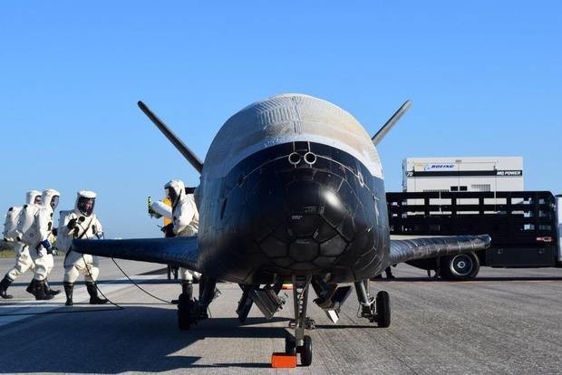 В США приземлился космолет, 2 года находившийся в космосе с секретной миссией