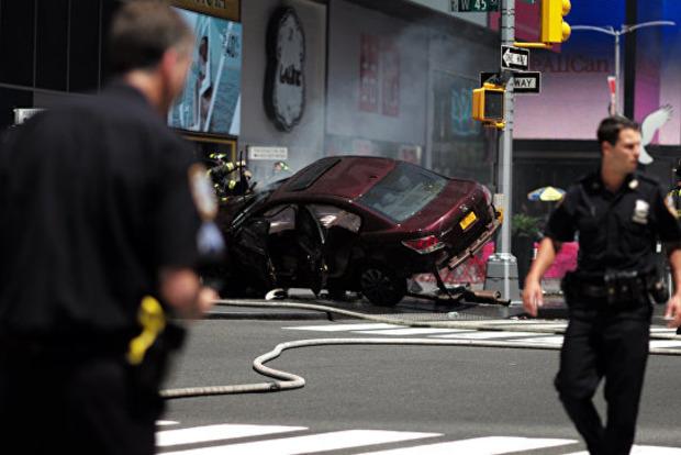 Теракт вНью-Йорке наМанхэттене попал навидео