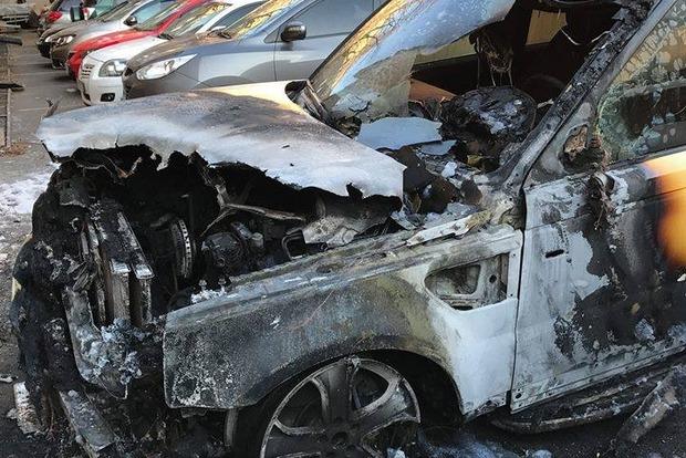 В Одессе сожгли автомобиль депутата горсовета от «Оппоблока»