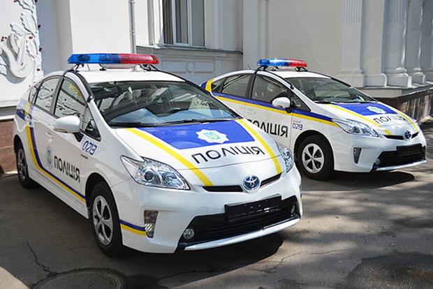 В Харькове пьяный водитель давал взятку полицейским российскими рублями